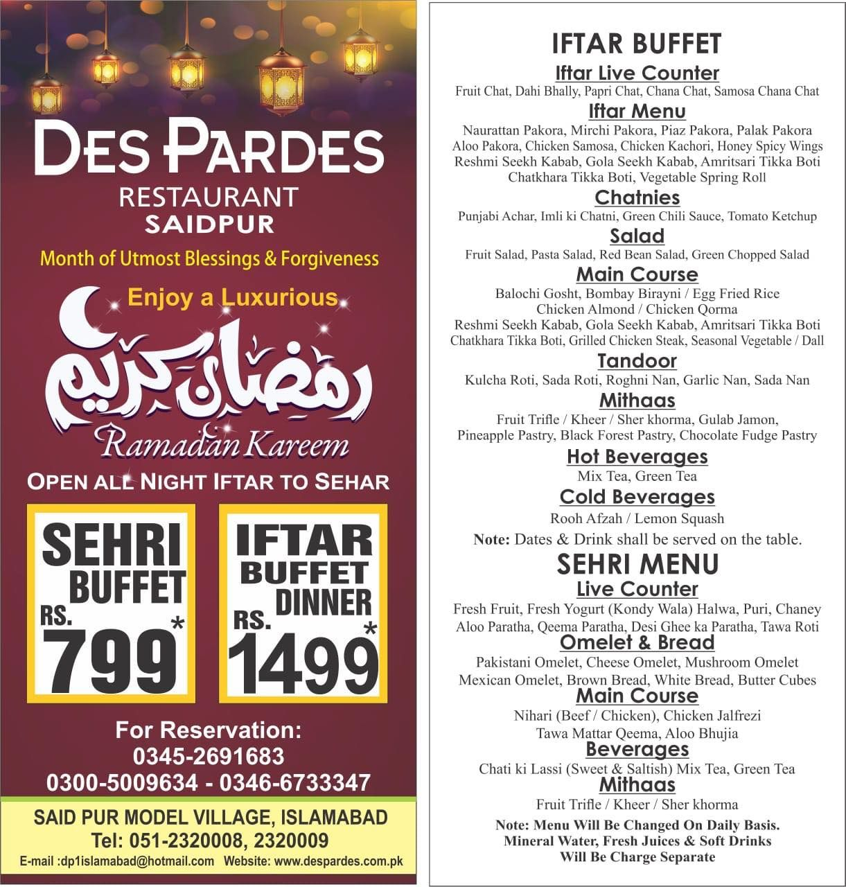 Order Food Online Best Food Delivery In Pakistan